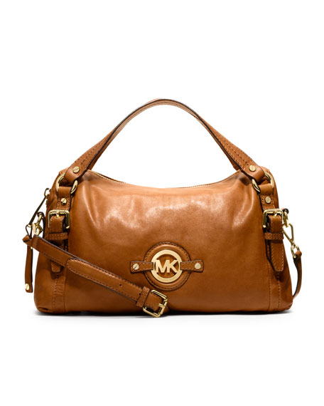Medium Stockard Shoulder Satchel
