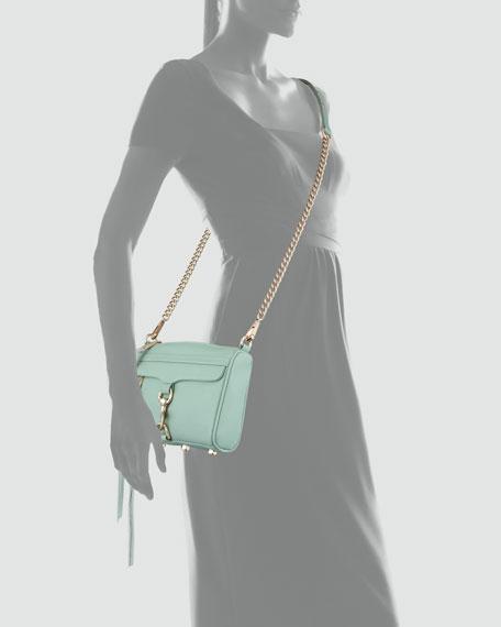 Mini M.A.C. Crossbody Bag, Seaglass