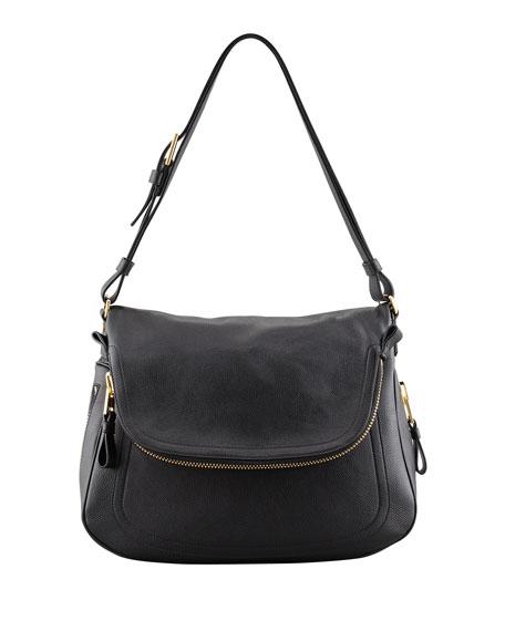 Jennifer Leather Shoulder Bag