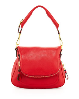Tom Ford Jennifer Medium Shoulder Bag, Red