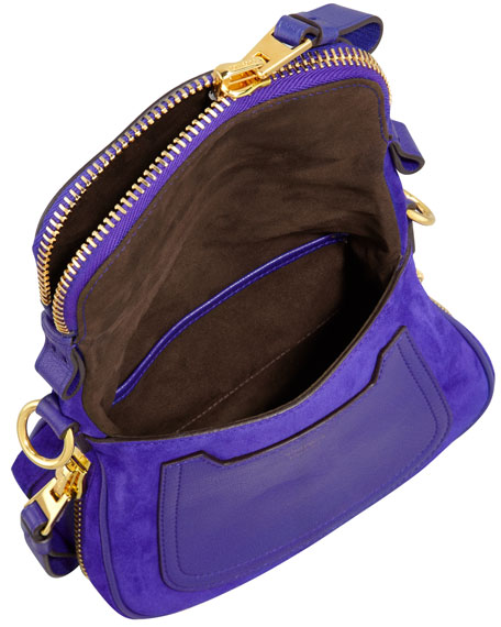 4c1a432a7f81 Tom Ford Jennifer Suede Mini Crossbody Bag