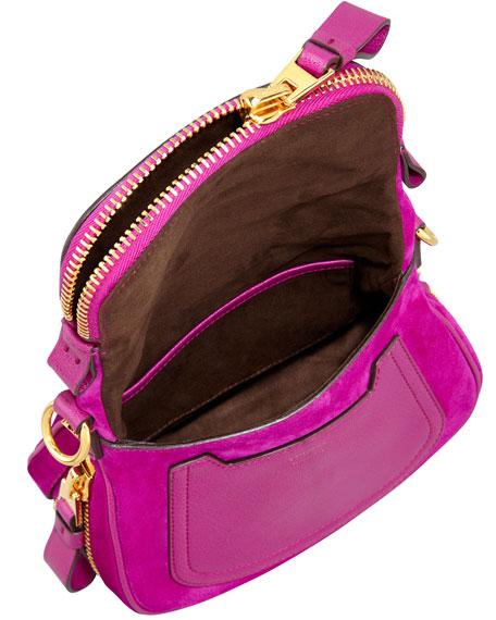 Jennifer Suede Mini Crossbody Bag