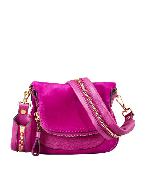 Jennifer Suede Mini Crossbody Bag