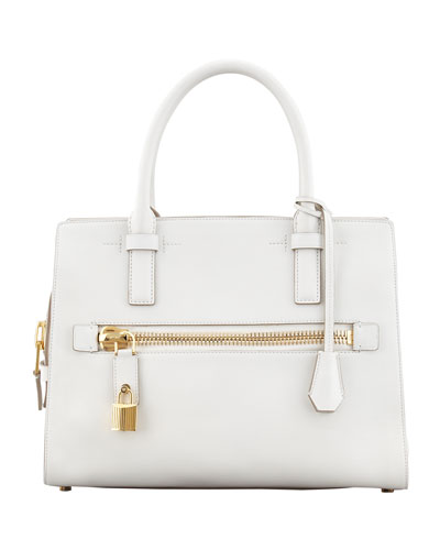 Tom Ford Charlotte Leather Small Tote Bag