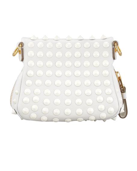 Jennifer Studded Leather Mini Crossbody Bag