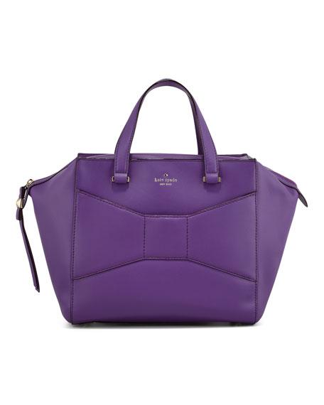 kate spade new york 2 park avenue beau shopper tote bag, purple