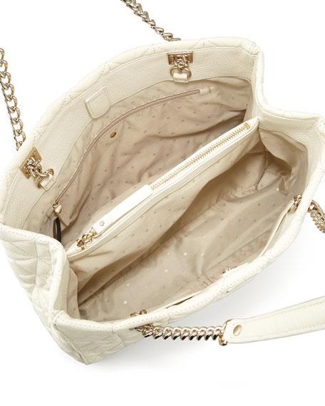 sedgwick place phoebe tote bag, cream