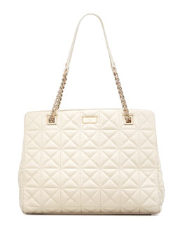 kate spade new york sedgwick place phoebe tote bag, cream
