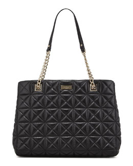 kate spade new york sedgwick place phoebe tote bag, black