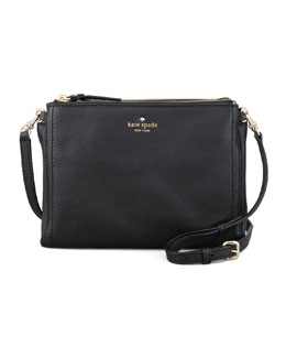 kate spade new york cobble hill lilibeth crossbody bag, black