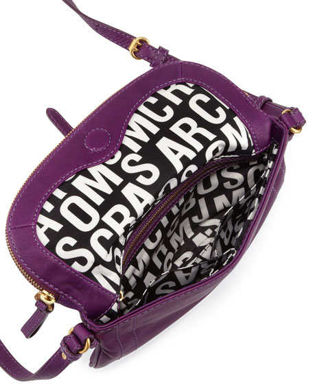 Petal to the Metal Percy Crossbody Bag, Purple
