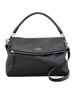 kate spade new york cobble hill little minka crossbody bag, black