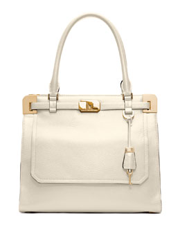 Michael Kors  Blake Pebbled Leather Satchel