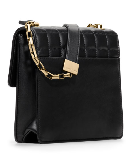 Gia Quilted Crossbody