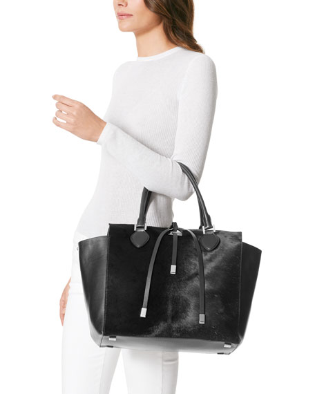 Large Miranda Calf-Hair Tote