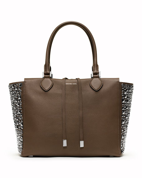 Large Miranda Stud-Side Tote