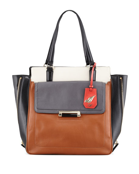 Highline Colorblock Tote Bag