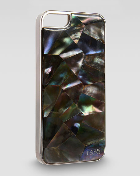 Rainbow Tab Shell iPhone 5 Case, Black
