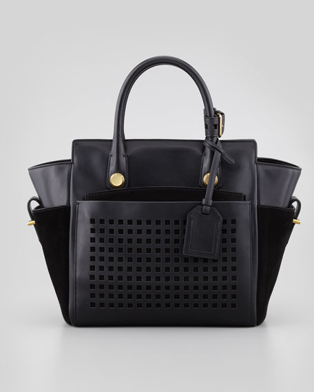 Atlantique Bionic Mini Tote Bag, Black