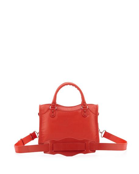 Classic Mini City Bag, Rouge