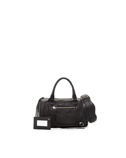 Balenciaga Classic Mini Twiggy Satchel Bag, Black