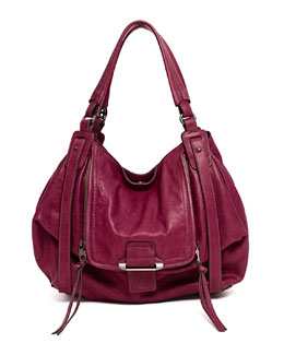 Kooba Jonnie Hobo Bag, Wine