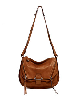 Kooba Leroy Shoulder Bag, Tan