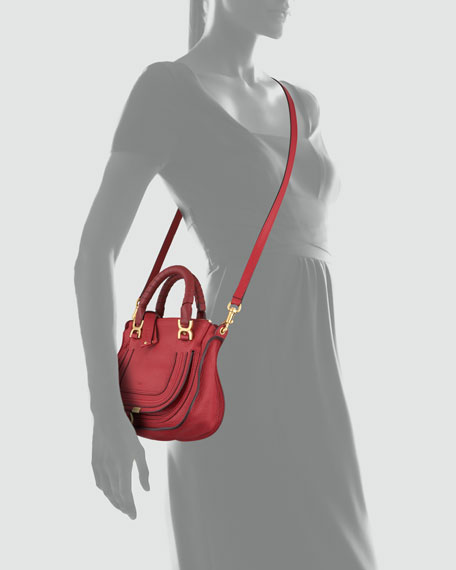 Marcie Mini Crossbody Bag, Red