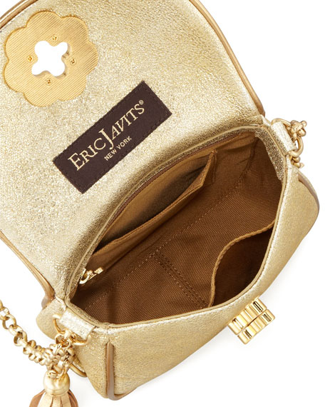 Baby Metallic Shoulder Bag, Gold