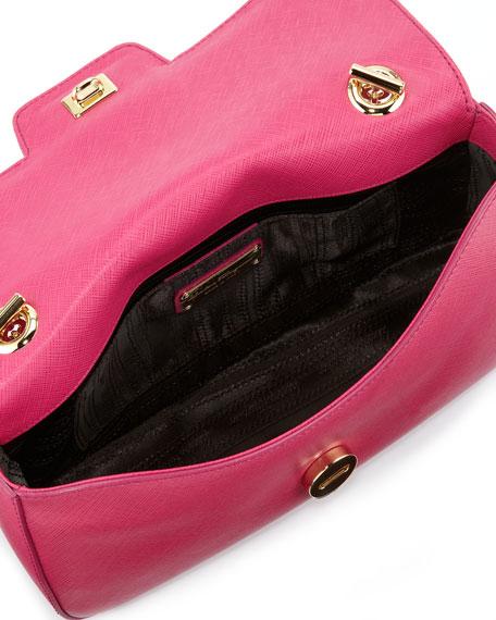 Rory Chain-Strap Shoulder Bag, Agata Rosa