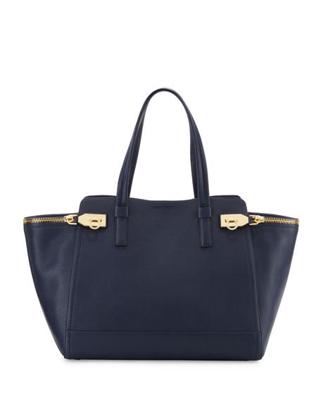 Salvatore Ferragamo Verve Light Zip-Side Large Tote Bag a711b5a1f09ad