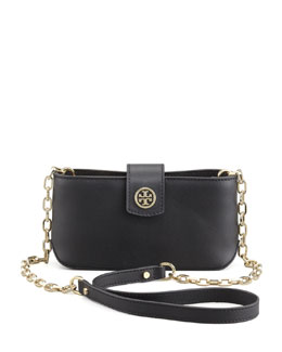 Tory Burch Robinson Smart Phone Crossbody Bag, Black