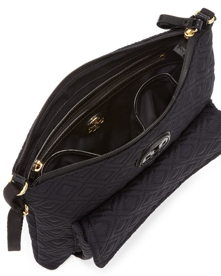 Ariana Quilted Swingpack, Black