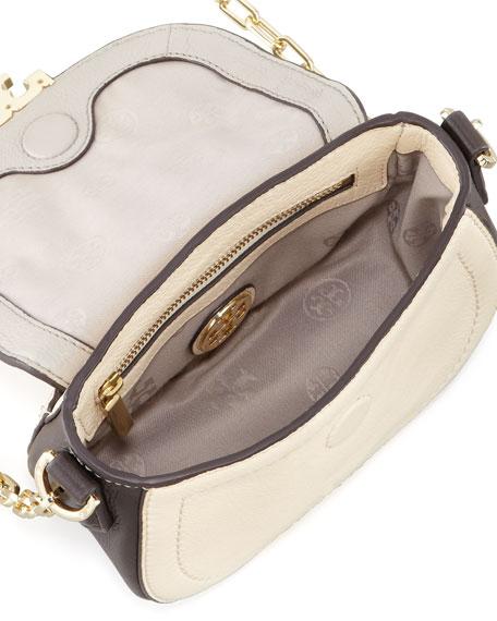 Sammy Colorblock Crossbody Bag, Cement Gray Multi