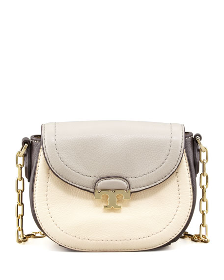 Sammy Colorblock Crossbody Bag, Cement Gray Multi