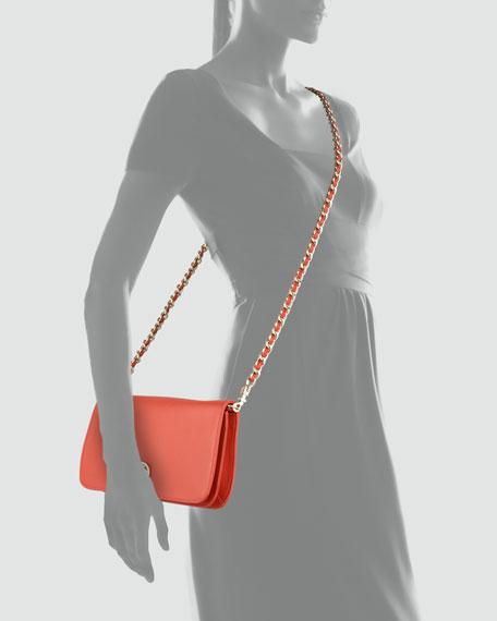 Adalyn Clutch Bag, Coral