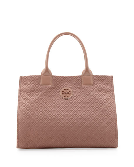Tory Burch Ella Quilted Tote, Blush : tory burch quilted tote - Adamdwight.com