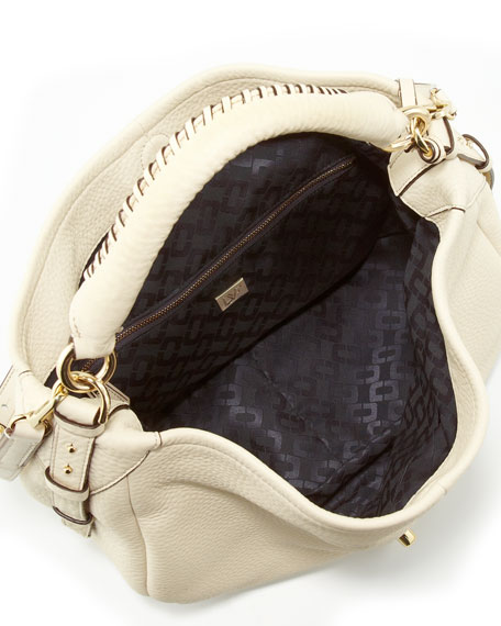 Sutra Leather Hobo Bag