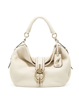 Diane von Furstenberg Sutra Leather Hobo Bag