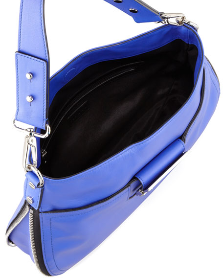Colby Shoulder Bag, Blue