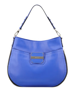 Milly Colby Shoulder Bag, Blue