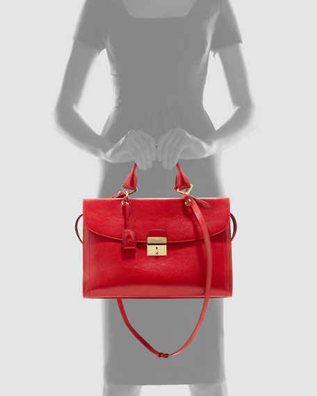 The 1984 Mini Satchel Bag, Flame