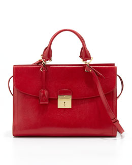 Marc Jacobs The 1984 Mini Satchel Bag, Flame