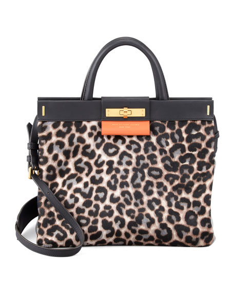 East End Madame Hilli Leopard-Print Tote Bag