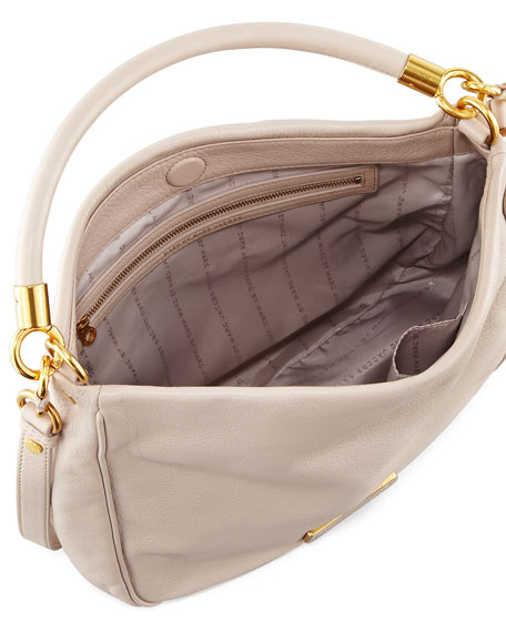 Too Hot to Handle Hobo Bag, Cream