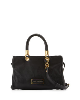 MARC by Marc Jacobs Too Hot to Handle Zip Satchel Bag, Black