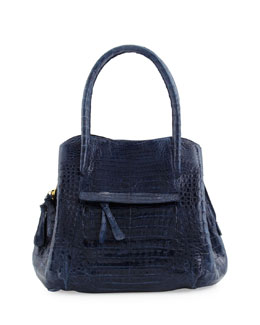Nancy Gonzalez Dual-Compartment Tote Bag, Navy