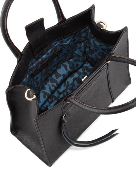 MAB Mini Tote Bag, Black