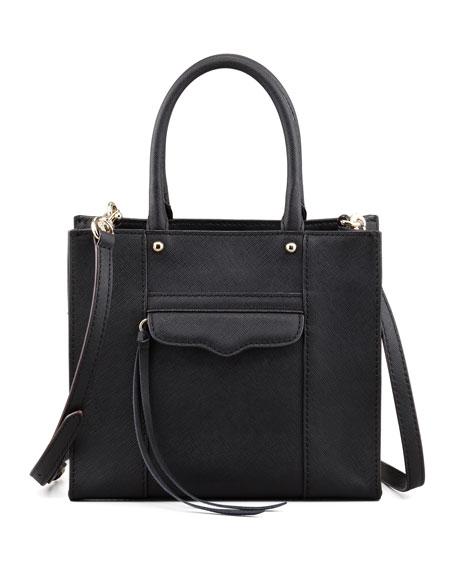 Rebecca Minkoff MAB Mini Tote Bag, Black