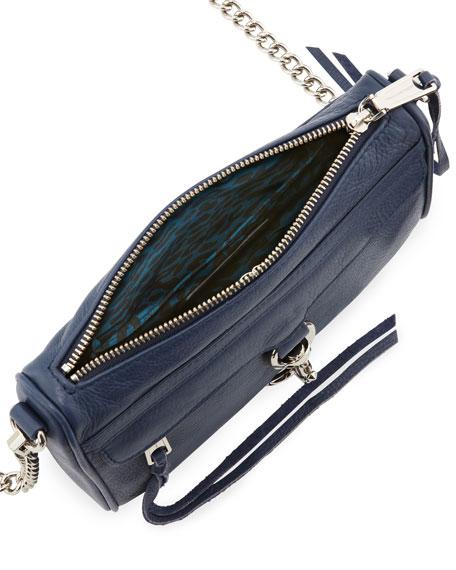 Mini MAC Crossbody Bag, Denim